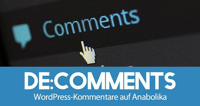 de:comments: Das beste Kommentar-Plugin für WordPress