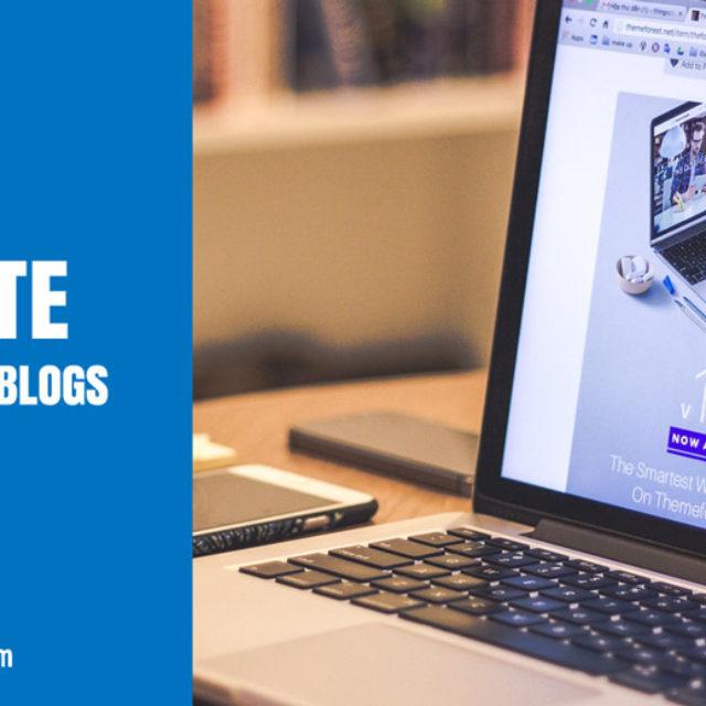 5 Schritte zum Start eines Blogs - mit 6 Videos