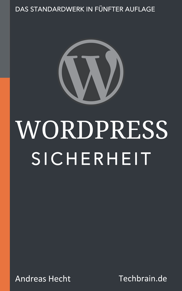 Cover WordPress Sicherheit