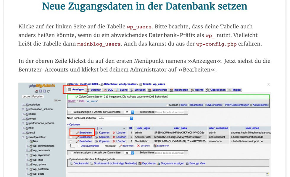 E-Book WordPress Sicherheit Screenshot