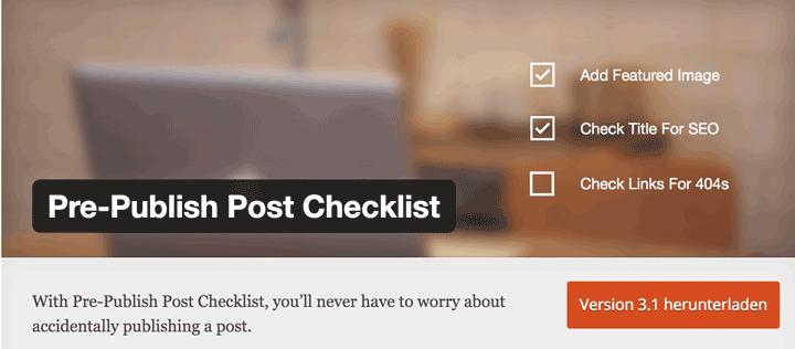 pre-publish-post-checklist