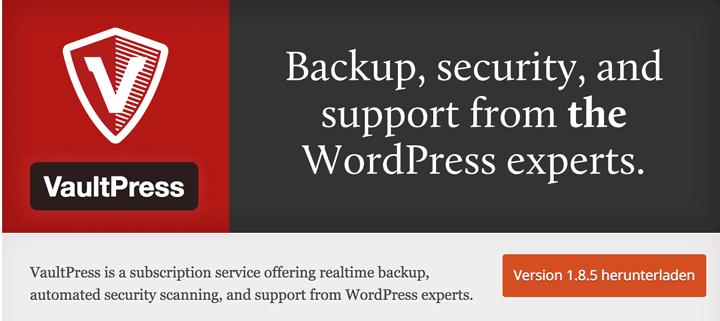 vaultpress-backup-service