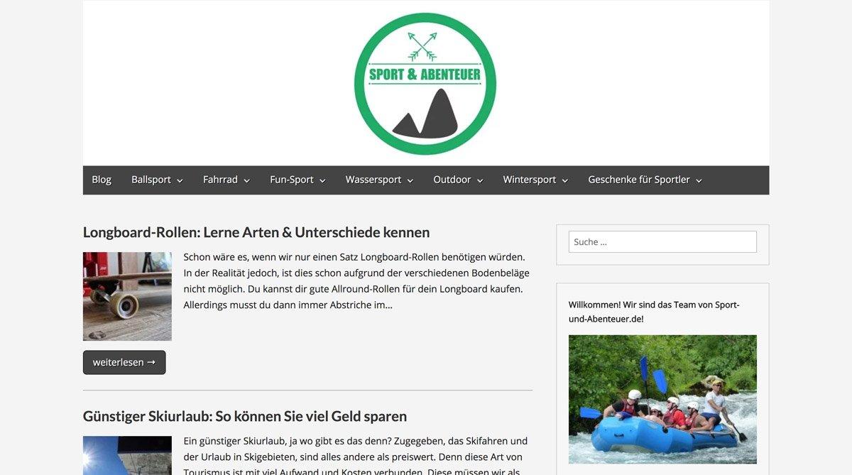 Sport-und-Abenteuer.de - Performance Optimierung