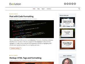 Evolution WordPress Framework