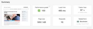 Evolution WordPress Framework Speed