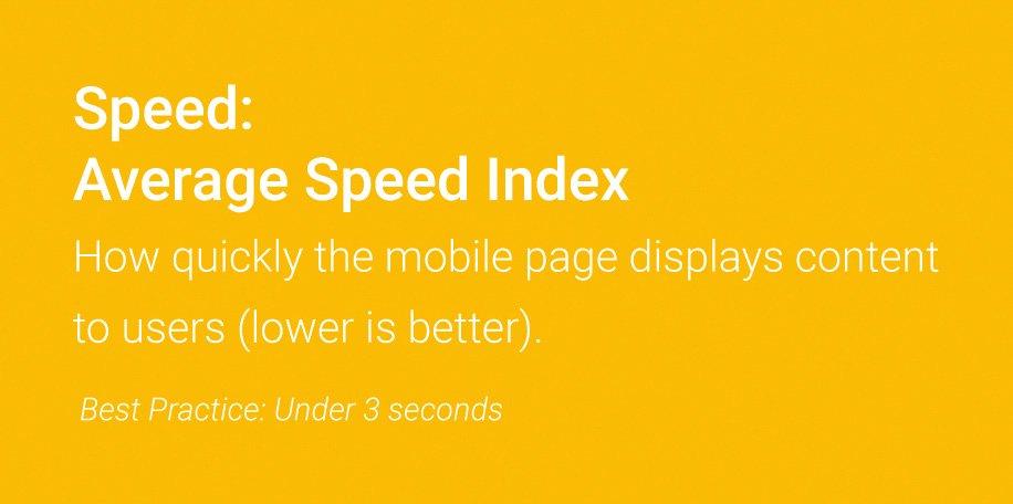 SEO Rankingfaktoren 2018: Der mobile PageSpeed möglichst unter drei Sekunden
