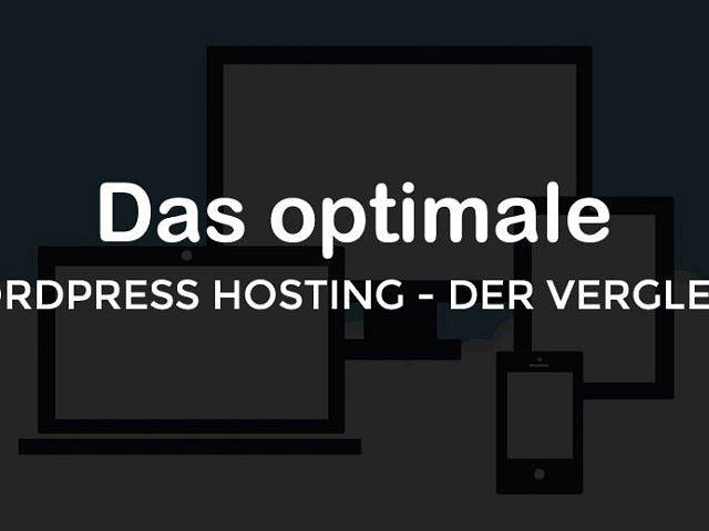 Optimales WordPress Hosting - zwei Top-Hoster im Vergleich
