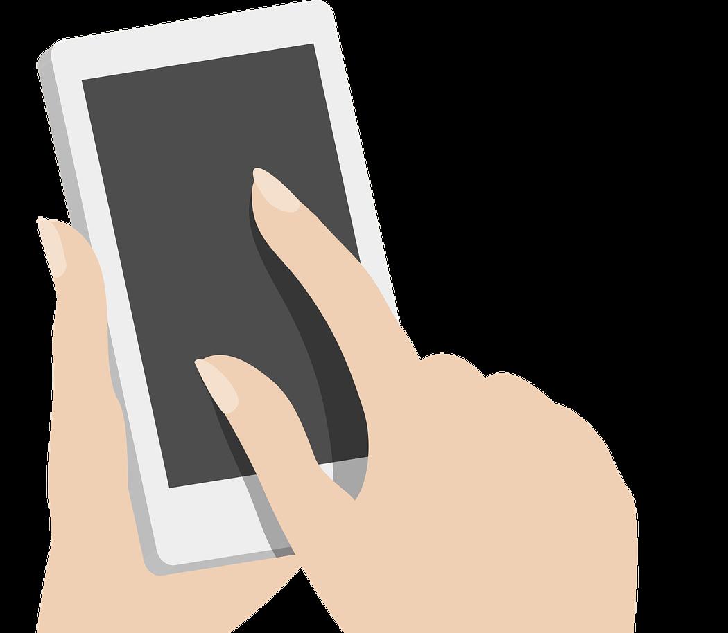 Illustration für die SEO Dienstleistung Mobile-First-Index