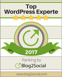 WordPress Experte im Ranking von Blog2Social