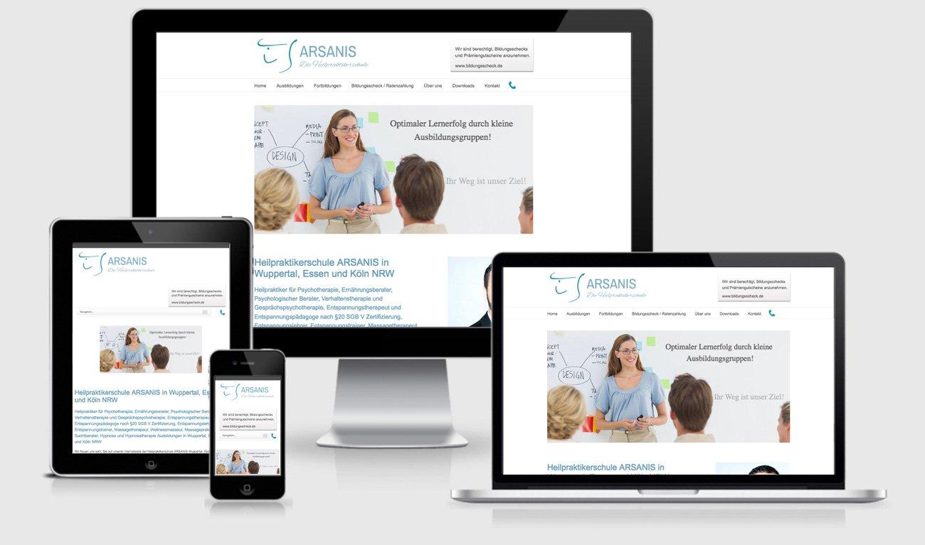 Der Mobile First SEO Service: Eine responsive Website passt sich an die Geräte dynamisch an und lässt sich immer optimal nutzen.