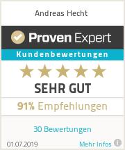 Erfahrungen & Bewertungen zu Andreas Hecht