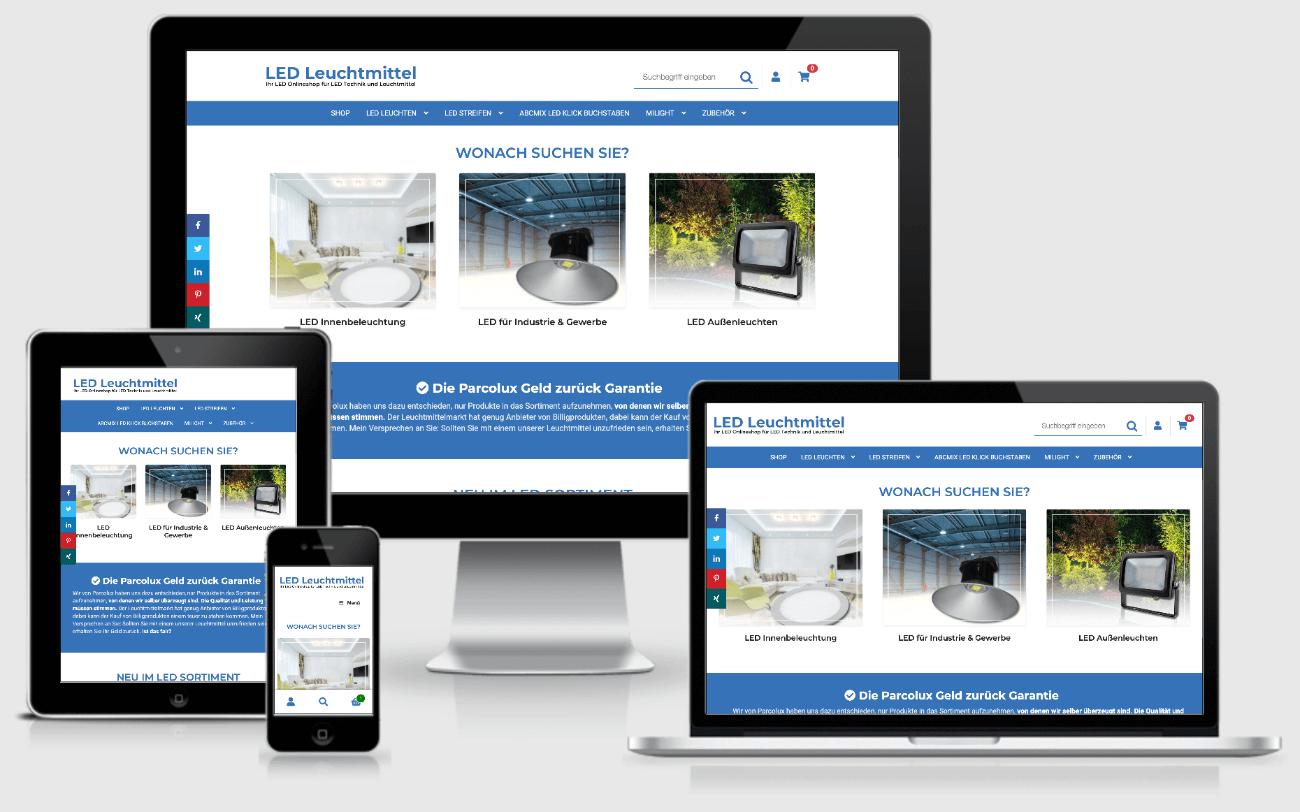 Parcolux.de - Ihr Online-Shop für LED Leichtmittel