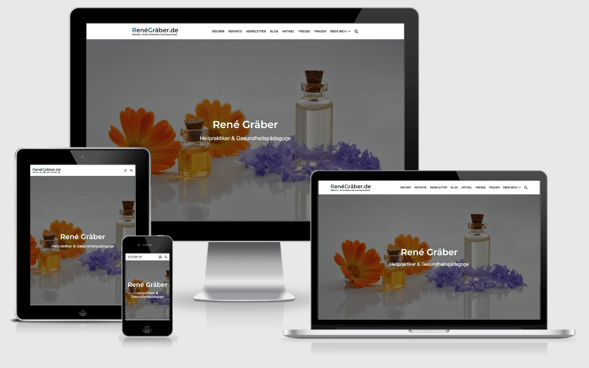 Die perfekte Anpassung einer Website an die jeweiligen Ausgabegeräte.