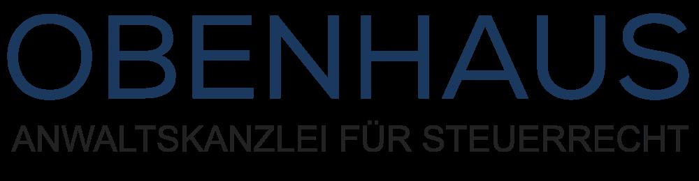 Logo der OBENHAUS Anwaltskanzlei für Steuerrecht