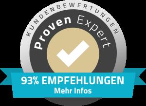 Die SEO Agentur Hamburg hat 90% Empfehlungen auf ProvenExperts.com